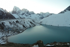 Gokya Lake from Gokyo-Ri